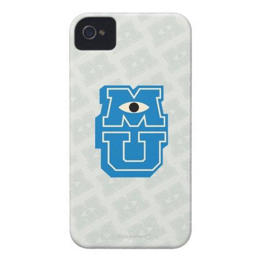 Logotipo de MU iPhone 4 Case-Mate Funda
