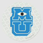 Logotipo de MU Pegatinas Redondas