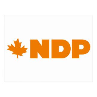 Logotipo de NDP Tarjeta Postal