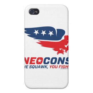 Logotipo de Neocon Chickenhawk iPhone 4 Cárcasa
