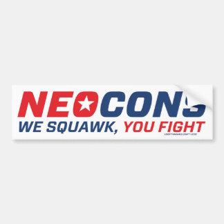 Logotipo de Neocon Chickenhawk Pegatina Para Auto