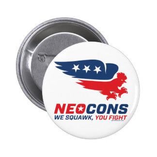 Logotipo de Neocon Chickenhawk Pin Redondo 5 Cm