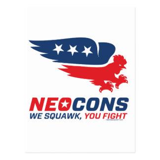 Logotipo de Neocon Chickenhawk Postales