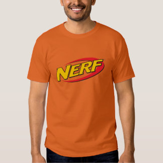 Logotipo de Nerf - App oscuro Playera