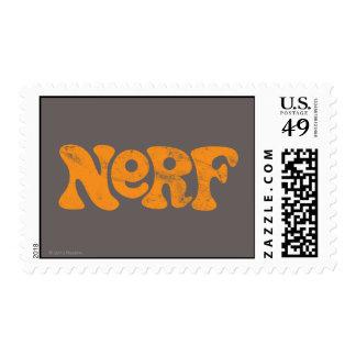 Logotipo de Nerf del vintage Estampillas