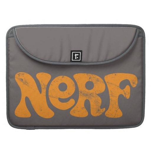 Logotipo de Nerf del vintage Fundas Macbook Pro