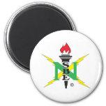 Logotipo de NSBE Imán Redondo 5 Cm