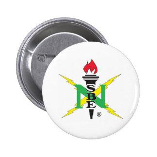Logotipo de NSBE Pin Redondo De 2 Pulgadas