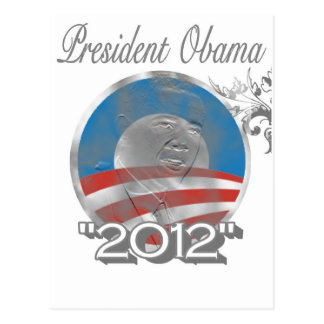 logotipo de obama del voto - imagen - 2012 tarjetas postales