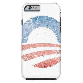 Logotipo de Obama Funda De iPhone 6 Tough