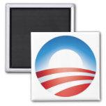 Logotipo de Obama Imán De Frigorífico