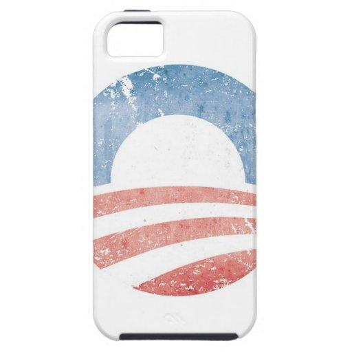 Logotipo de Obama iPhone 5 Case-Mate Carcasas