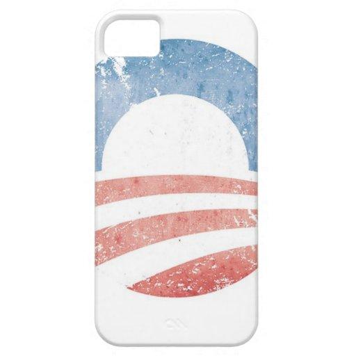 Logotipo de Obama iPhone 5 Funda
