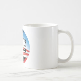 Logotipo de Obama - llano Taza Clásica