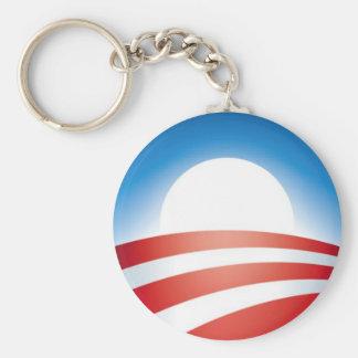 Logotipo de Obama Llavero Personalizado