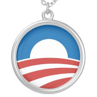 Logotipo de Obama-o con el azul Grimpolas