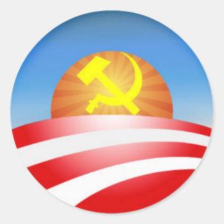 logotipo de obama - soviet pegatinas