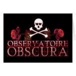 Logotipo de Observatoire Obscura Felicitación