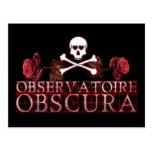 Logotipo de Observatoire Obscura Tarjetas Postales
