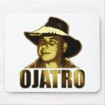 Logotipo de Ojatro en oro Alfombrillas De Ratones