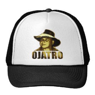 Logotipo de Ojatro en oro Gorra