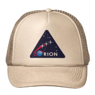 Logotipo de Orión del proyecto de la NASA Gorro De Camionero