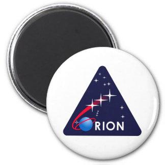 Logotipo de Orión del proyecto de la NASA Imán Redondo 5 Cm