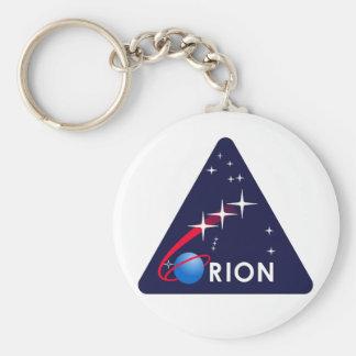 Logotipo de Orión del proyecto de la NASA Llavero Redondo Tipo Pin