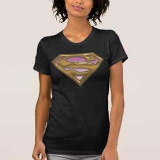 Logotipo de oro de Supergirl Tshirts