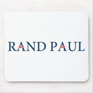 Logotipo de Paul del rand Alfombrilla De Ratones