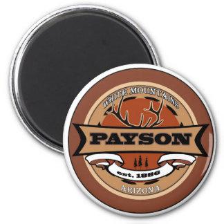Logotipo de Payson Imán Redondo 5 Cm