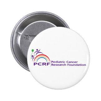 Logotipo de PCRF Pin Redondo De 2 Pulgadas
