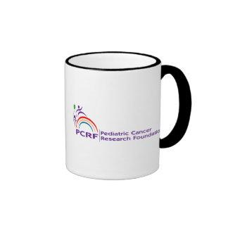 Logotipo de PCRF Taza De Dos Colores