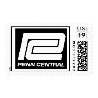 Logotipo de Penn Central Railway Company Sellos Postales