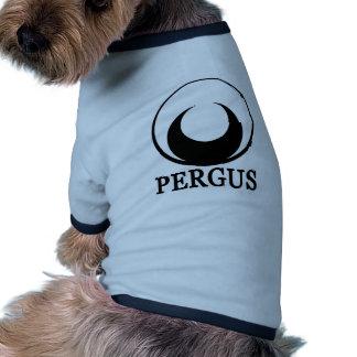 Logotipo de Pergus Camisas De Mascota