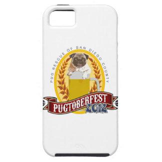 Logotipo de PRSDC Pugtoberfest Funda Para iPhone 5 Tough