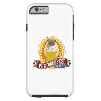 Logotipo de PRSDC Pugtoberfest Funda De iPhone 6 Tough