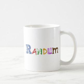Logotipo de Randum Taza De Café