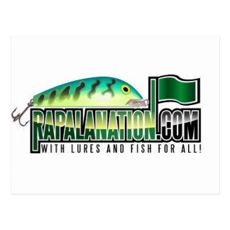 Logotipo de RapalaNation Tarjeta Postal