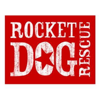 Logotipo de RDR (blanco/estrella del espacio en bl Postales