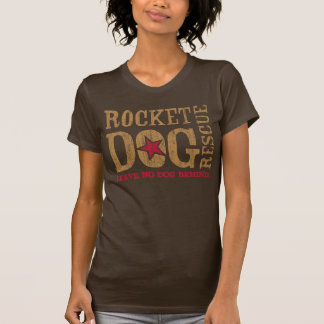 Logotipo de RDR (oro/rojo del vintage) Remeras