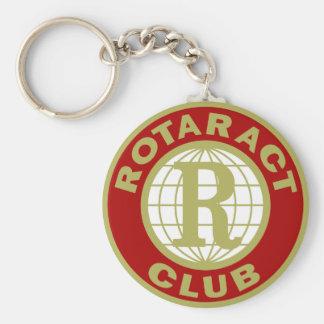 Logotipo de Rotaract Llavero Redondo Tipo Pin