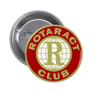 Logotipo de Rotaract Pin Redondo 5 Cm