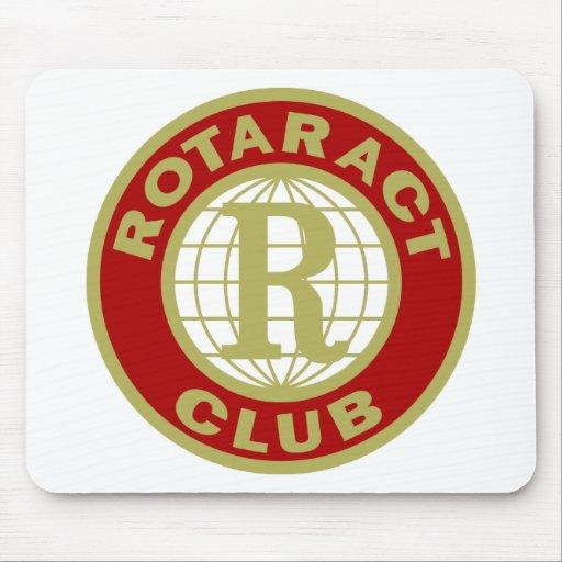 Logotipo de Rotaract Tapetes De Ratón