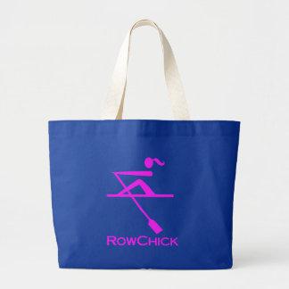 Logotipo de RowChick Bolsa Tela Grande
