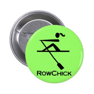 Logotipo de RowChick Pin