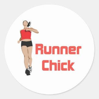 Logotipo de RunnerChick Etiquetas