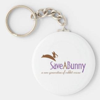 Logotipo de SaveABunny Llavero
