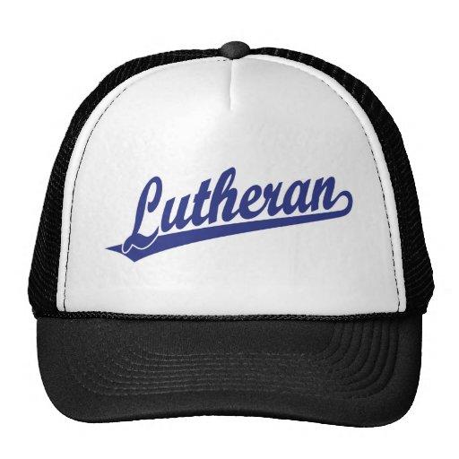 Logotipo de Scipt del Lutheran Gorros