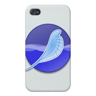 Logotipo de SeaMonkey iPhone 4 Funda